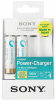 SONY Kit Chargeur USB + 2 Piles AA Rechargeables - 1900 mAh (Promo)