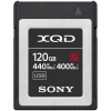 SONY Carte XQD 120GB 440MB/s