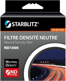 STARBLITZ Filtre Gris Neutre ND1000 D77mm