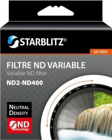 STARBLITZ Filtre ND Variable ND2-400 D62mm