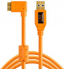TETHER TOOLS Câble USB 3.0 / Micro-B 4.6M Coudé Droit Orange