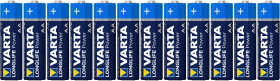 VARTA Piles LONGLIFE Power LR6 (AA) X12 (4906)