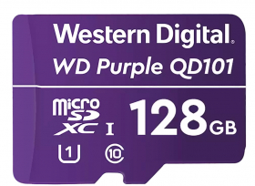 WESTERN DIGITAL Micro SDXC UHS-3 V30 128GB (Class 10) Purple