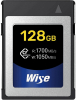 WISE Carte CFexpress R1700/W1050 Mb/s 128Gb