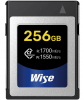 WISE Carte CFexpress R1700/W1550 Mb/s 256Gb