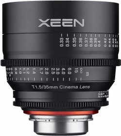 XEEN 35mm T 1.5 Cinema Sony E