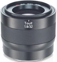 CARL ZEISS Touit 32mm f/1.8 Fuji X (OP ZEISS)